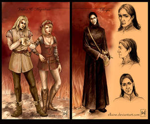 Geralt's team - Regis by ellaine