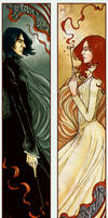 Severus+Lily Bookmarks