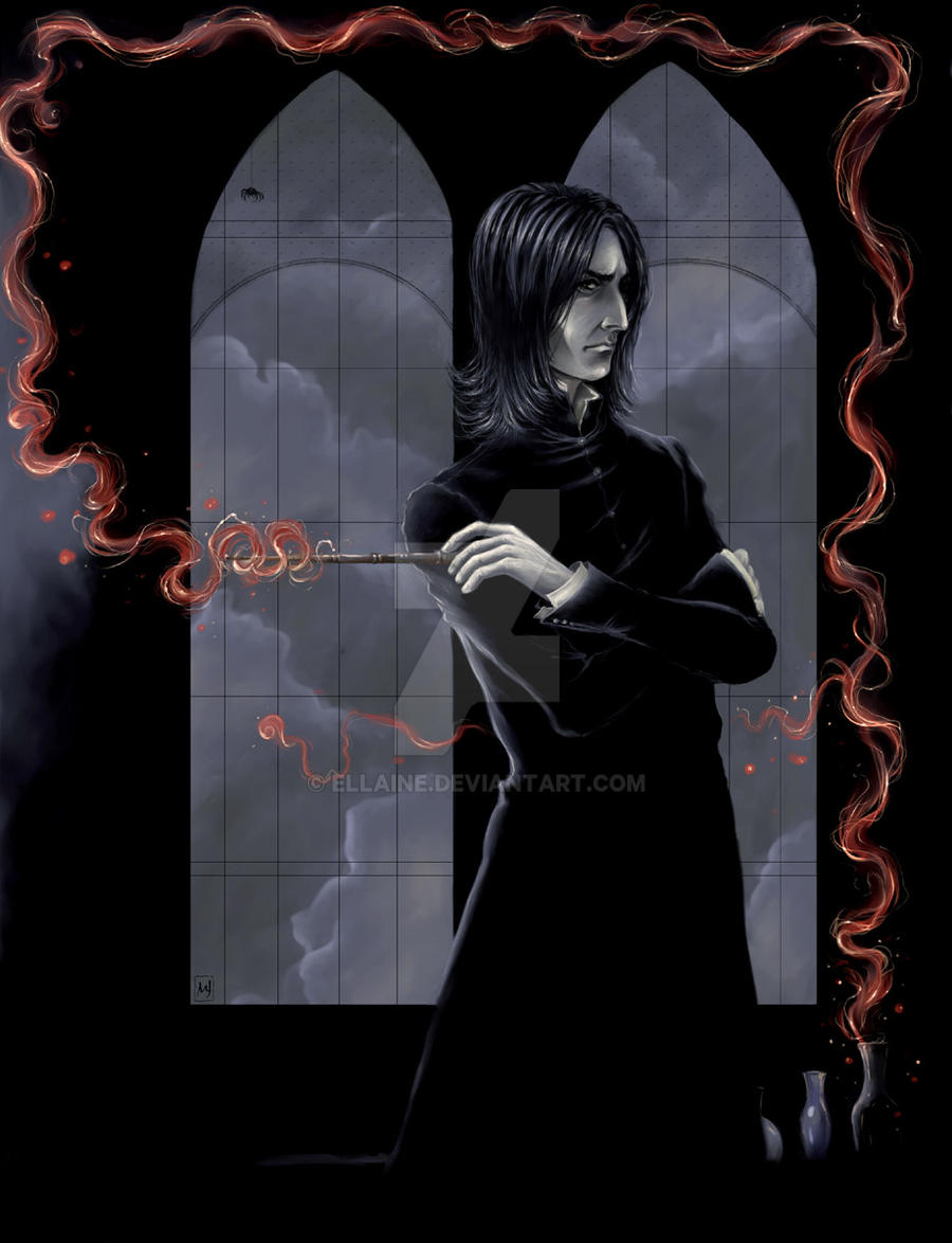 Severus Snape by ellaine