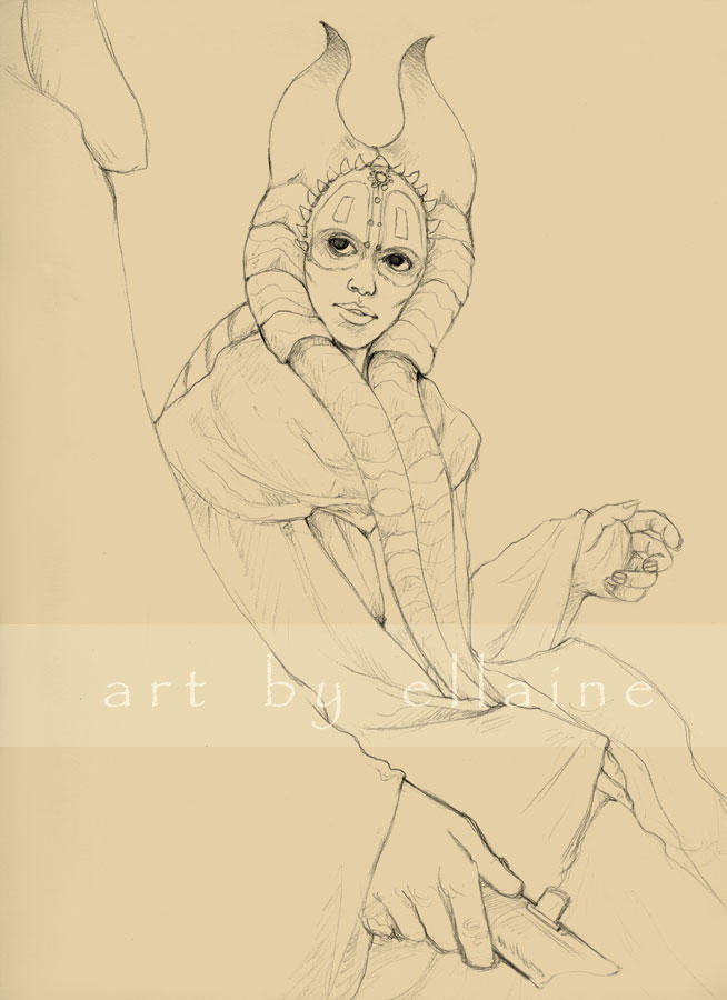 A hero... - sketch by ellaine