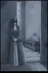 Une Fleur Morte by ellaine