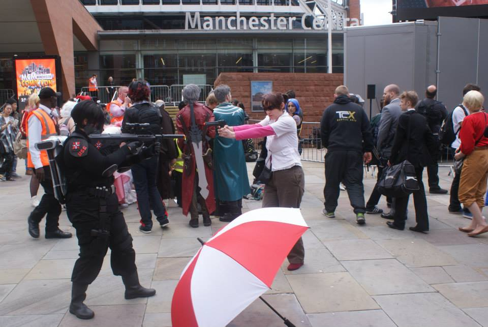 Manchester comic con 2015 25th july resident evil by mistyminxchick