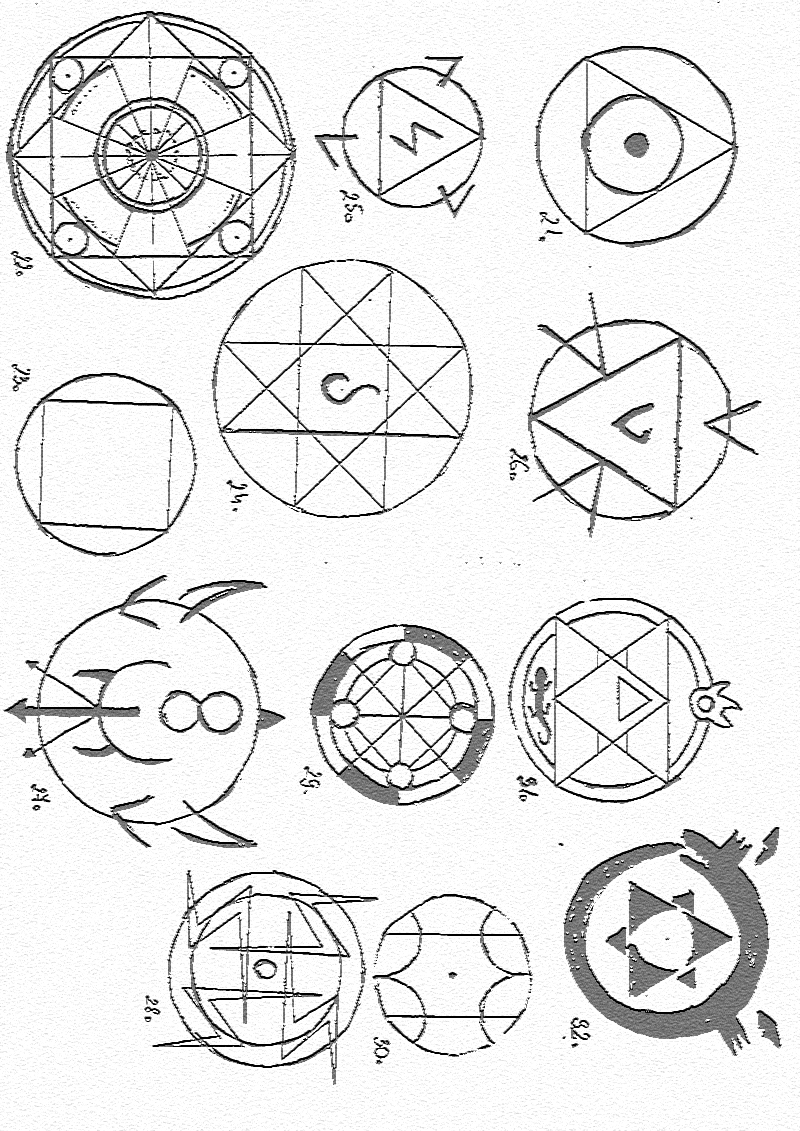 Alchemy Symbols And Meanings Fullmetal Alchemist More Information
