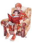 Bilbo and Frodo