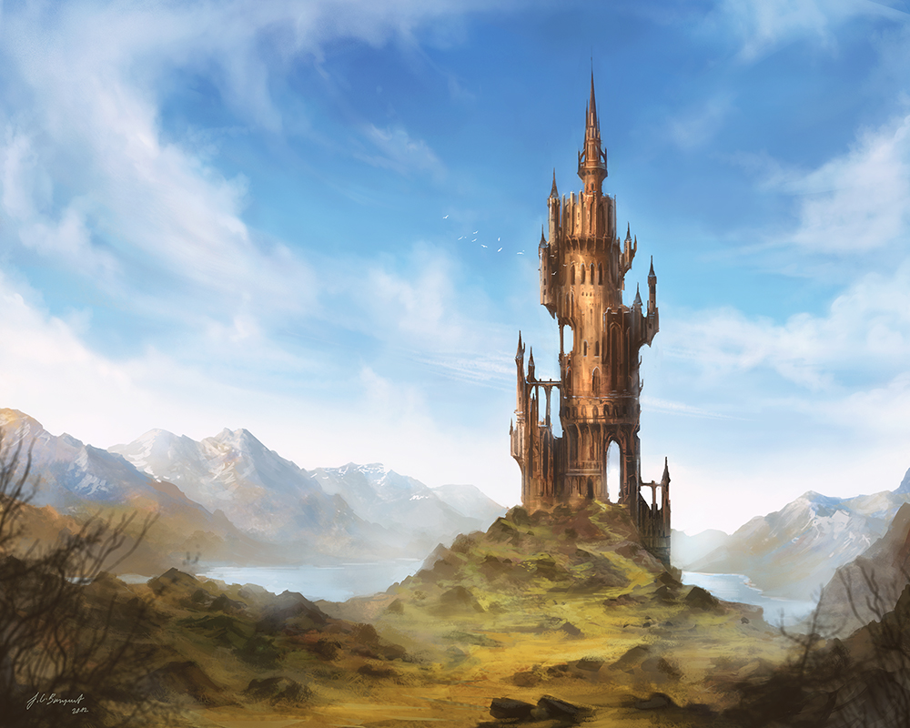 fantasy art wizard castle - photo #3