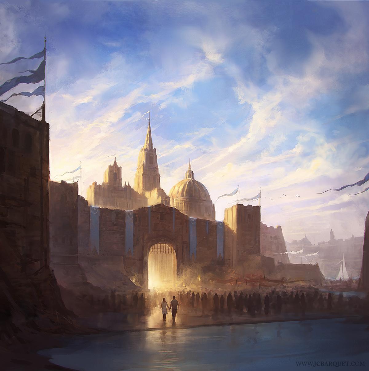 The Atlantis Plague - cover artwork by jcbarquet