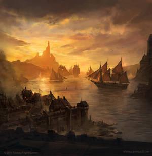 Lannisport - Game of Thrones TCG by jcbarquet