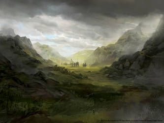 Scattered Among the Hills - LOTR LCG