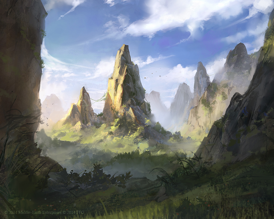 Rugged Country - Lord of the Rings TCG