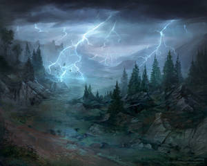 Weather-torn Valley - Lord of the Rings TCG