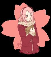 Sakura-chan by mandarain-a