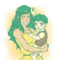 Her precious boy by mandarain-a