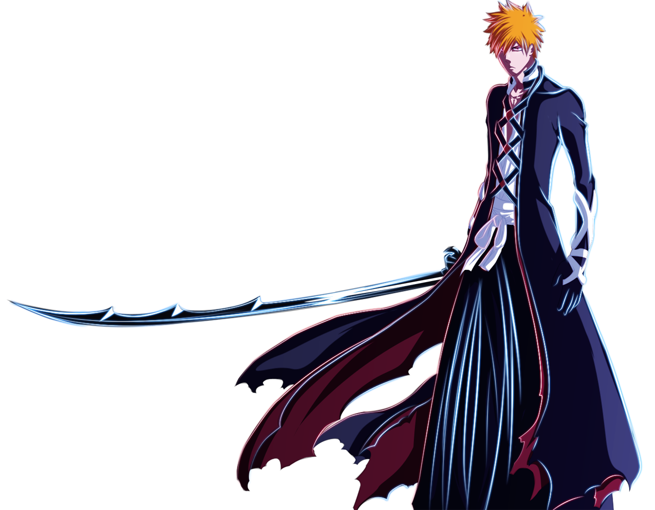 Ichigo's New Bankai by Loona-Cry on DeviantArt