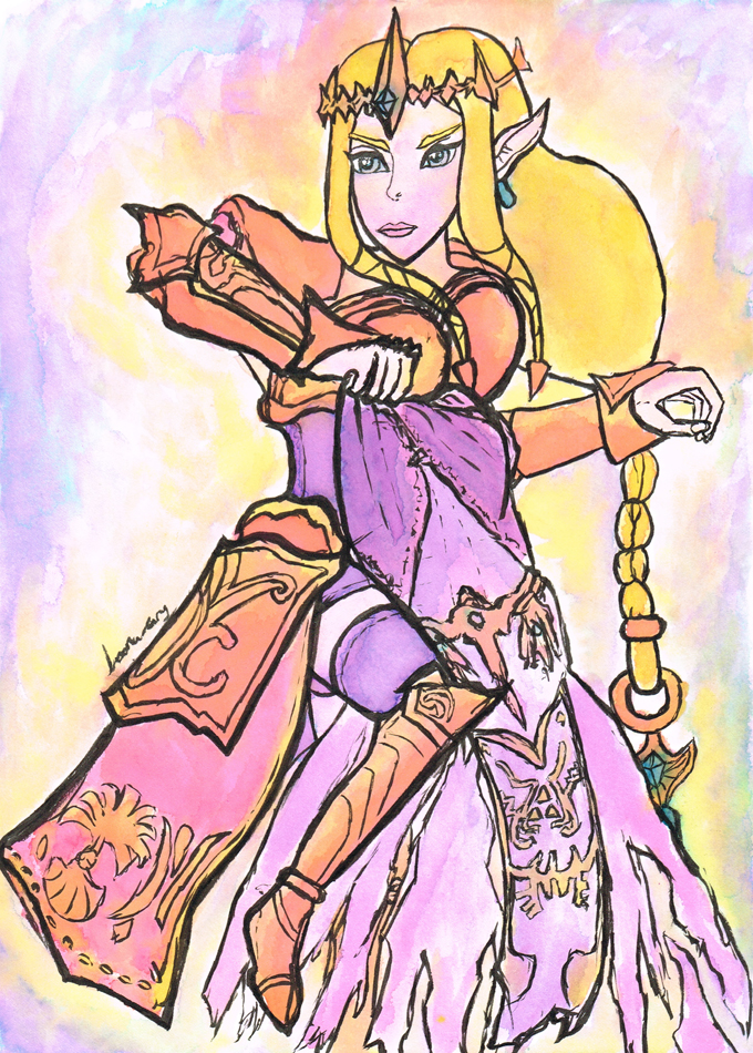 Princess Zelda by Loona-Cry