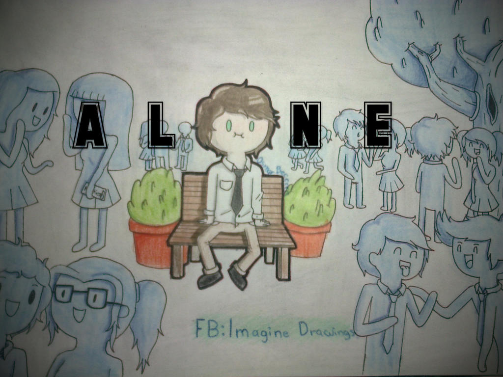 Alone by imagine drawings