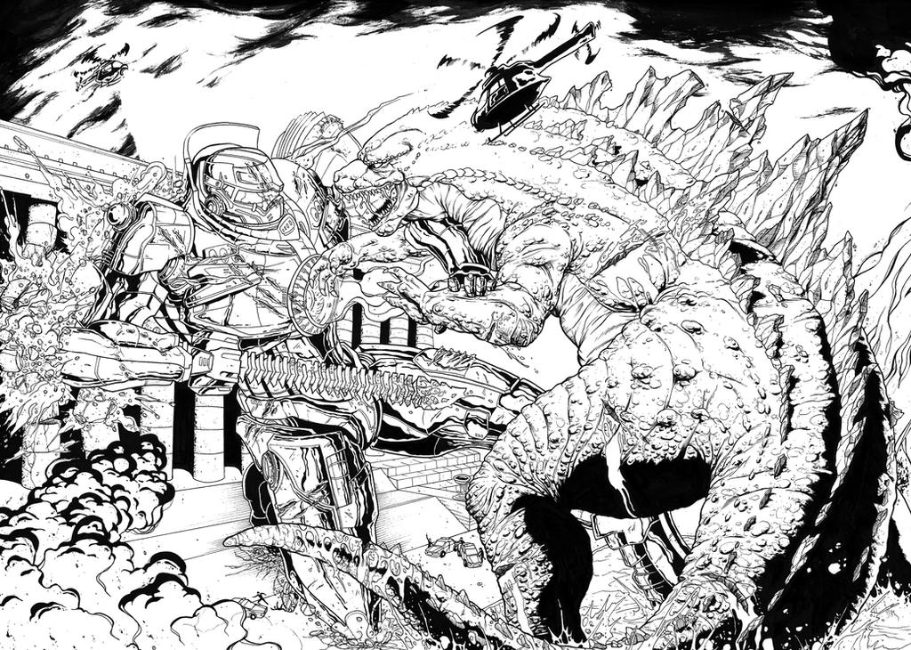 GODZILLA VS GIPSY DANGEROUS by