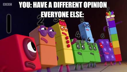 Opinion meme