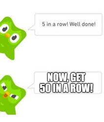 Duolingo meme