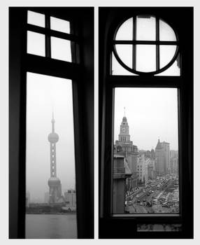 Shanghai from the windows