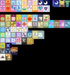 MLPFiM Minecraft 32x Cloth Blocks