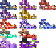 FE 6 Minecraft Skins Set 01 by GGod