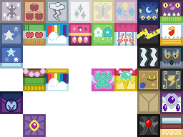 MLPFiM Costumes and Fancy Outfits Cloth Blocks by GGod