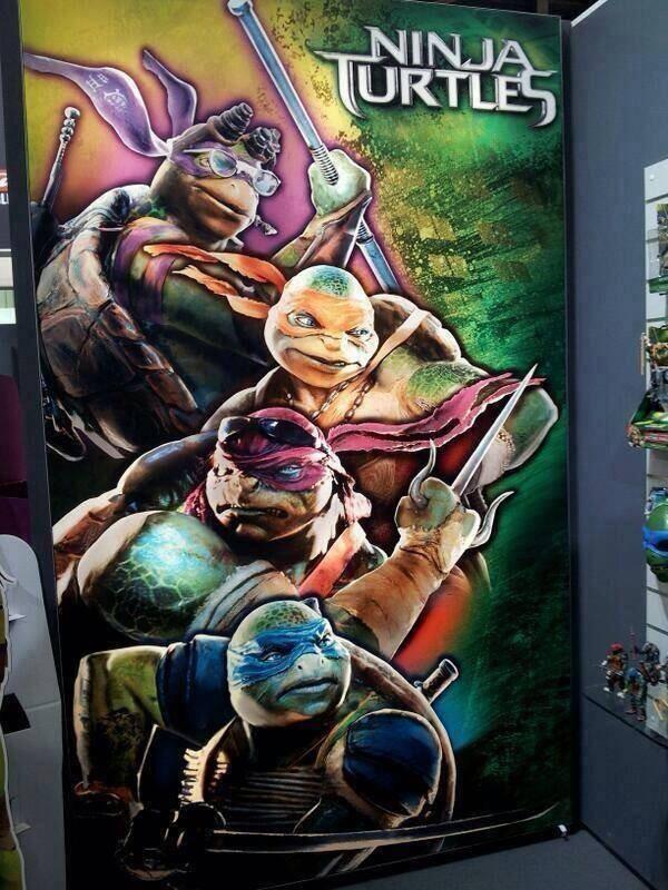 Ninja Turtles Poster by PsychicNomad on DeviantArt