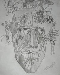 Self-Portrait by Spasmedrosetta