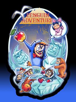 Camiseta Penguin Adventure