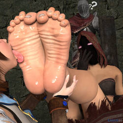 Pyromancer's Soles Soaked