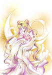 Neo Queen Serenity and Princess Rini