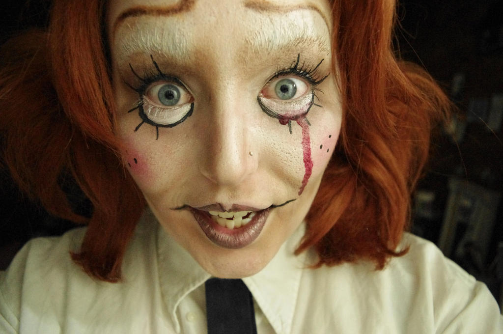 Creepy Doll Stock2 by AlysAlone