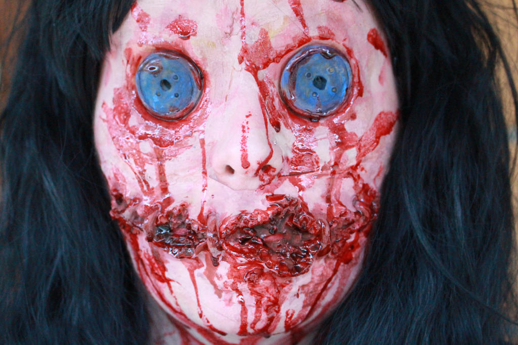 Doll Eyes Stock by AlysAlone