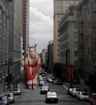 Jenni Devil Slows Traffic