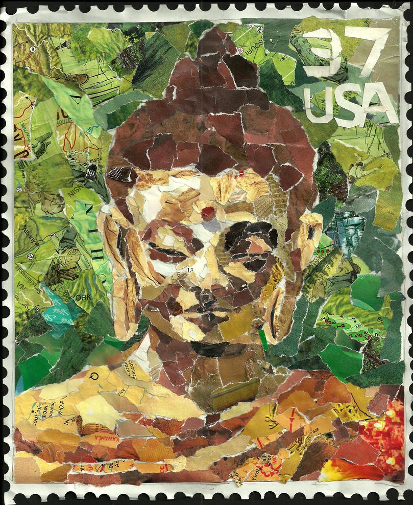 Buddha Stamp by Joe-Awesome