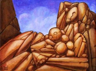 FIGURESCAPE 1 Original Contemporary Art PATTY