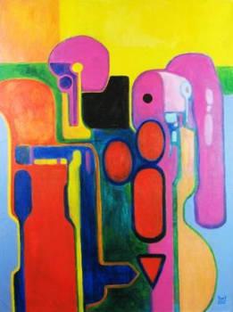 DIVERGENCE Original Contemporary Art PATTY