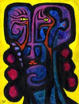 EVE Original Contemporary Art PATTY