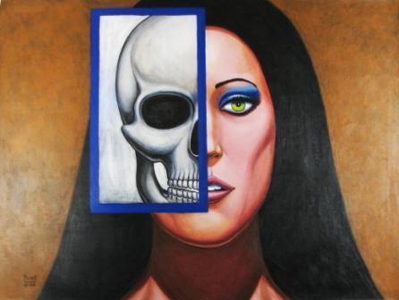 DEAD GIRL 2 Original Contemporary Art PATTY by Sean-Patty