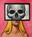 DEAD GIRL 3 Original Contemporary Art PATTY