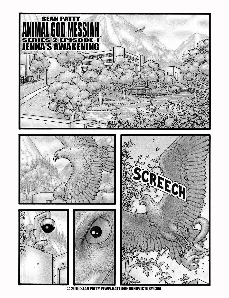 ANIMAL GOD MESSIAH Weekly Comics Series on Patreon