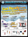AAA Summer Event Flyer