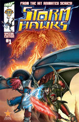 Storm Hawks Special Cover by crozonia