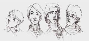 headshots - maruader scribbles