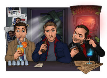 Drinking Buddies by Awkwardly-Social