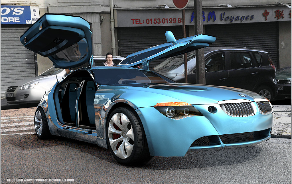Bmw Z9 Gt By Artsoni3d On Deviantart