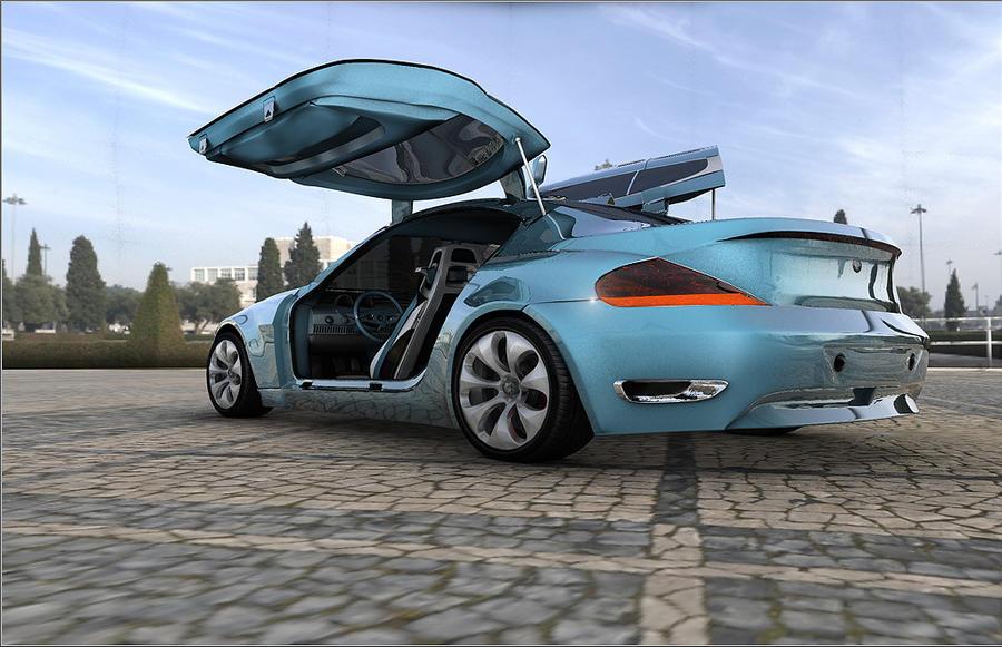 Bmw Z9 Car Prototype By Artsoni3d On Deviantart