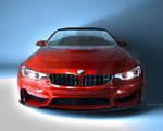BMW M4 Coupe RED