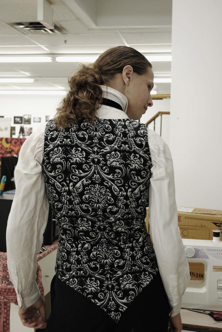 Black and White Waistcoat 2 by Barbatos666