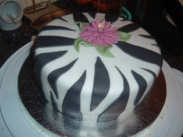 Tiger Lily Cake by DavidArsenault